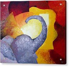 Ecstasy Acrylic Print by Draia Coralia