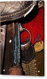 Ecuador Saddle Acrylic Print by Chad Simcox