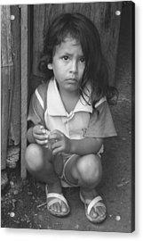 Acrylic Print featuring the photograph Ecuadorian Girl by Paul Miller