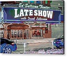 Ed Sullivan Theater Acrylic Print