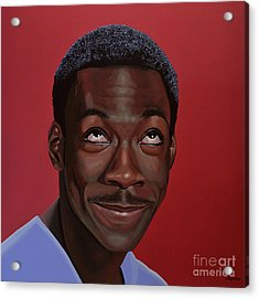Eddie Murphy Painting Acrylic Print