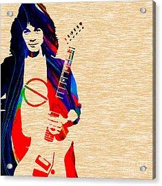 Eddie Van Halen Collection Acrylic Print