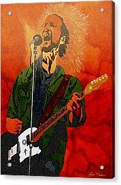 Eddie Vedder-eddie Live Acrylic Print