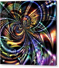 Eddies Acrylic Print
