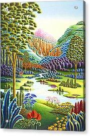 Eden Acrylic Print