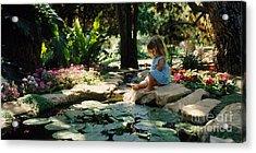 Eden Joy Srf Garden Acrylic Print
