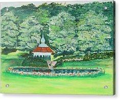 Eden Park  Cincinnati Ohio Acrylic Print by Diane Pape