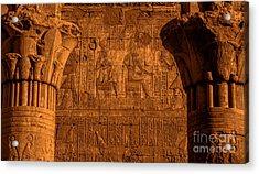 Edfu Temple Acrylic Print