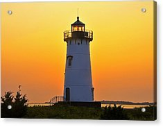 Acrylic Print featuring the photograph Edgartown Light by Dan Myers