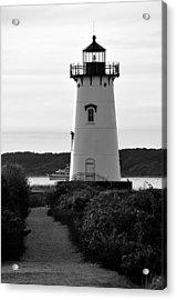 Edgartown Lighthouse Acrylic Print by David Champigny