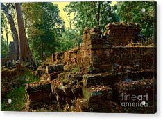 Edge Of Ruin Acrylic Print