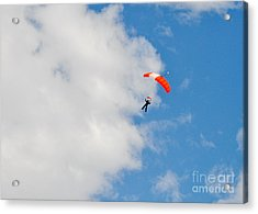 Edge Of The Clouds Acrylic Print