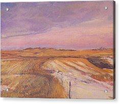 Edge Of The Field Acrylic Print