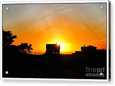 Edge Of The Mendocino Headlands Acrylic Print