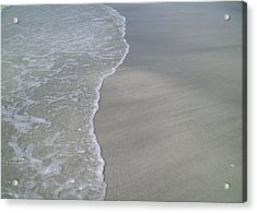 Acrylic Print featuring the photograph Edge Of The Ocean by Ginny Schmidt