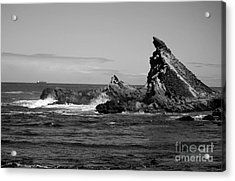 Edge Of The Sea Acrylic Print by Deena Otterstetter