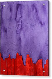 Edge Of The West Original Painting Acrylic Print