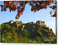 Edinburgh Castle  Acrylic Print by Craig B