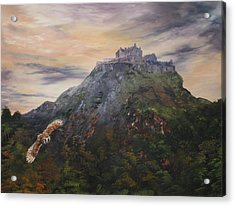 Edinburgh Castle Scotland Acrylic Print