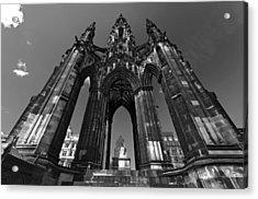 Edinburgh's Scott Monument Acrylic Print