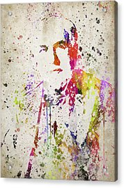Edison In Color Acrylic Print by Aged Pixel