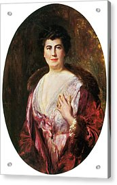 Edith Wilson, First Lady Acrylic Print by Science Source