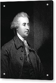 Edmund Burke Acrylic Print by Collection Abecasis