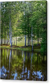 Edson Hill Reflections Acrylic Print