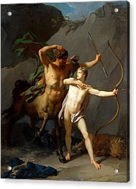 Education Of Achilles Acrylic Print