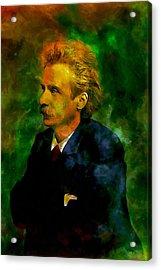 Edvard Grieg Acrylic Print