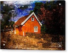 Edvard Munch's House Acrylic Print by Randi Grace Nilsberg
