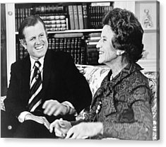 Edward And Rose Kennedy Acrylic Print