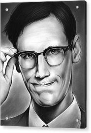 Edward Nygma Acrylic Print by Greg Joens
