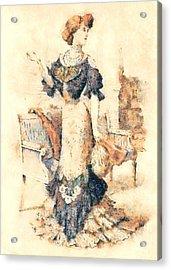 Edwardian Elegance Acrylic Print