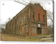 Edwards Store Acrylic Print by Russell Christie