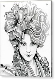 Effie Trinket - The Hunger Games Acrylic Print