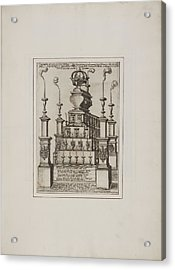 Effigy And Statue Acrylic Print by British Library