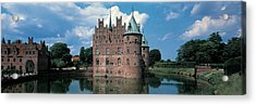 Egeskov Castle Odense Denmark Acrylic Print by Panoramic Images