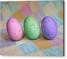 Easter Egg Roll Acrylic Print