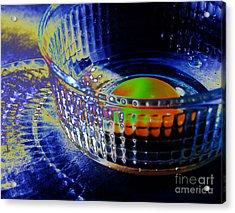 Eggadelic Acrylic Print