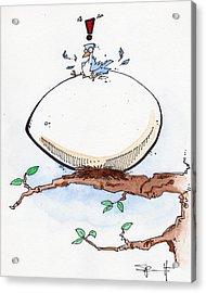 Eggbert Acrylic Print