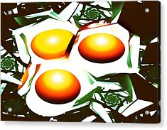 Eggs For Breakfast Acrylic Print