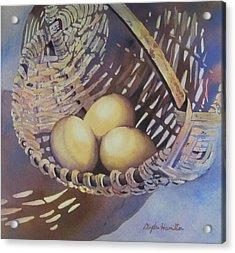 Eggs In A Basket II Acrylic Print
