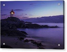 Eggum Lighthouse Acrylic Print