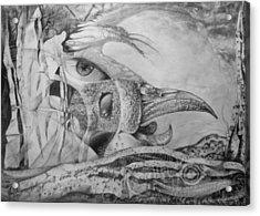 Ego-bird-fish Nesting Ground Acrylic Print by Otto Rapp
