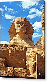 Egypt, Cairo, Giza, The Sphinx Acrylic Print