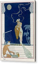 Egypt Acrylic Print by Georges Barbier