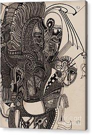 Egypt Walking Acrylic Print by Michael Kulick