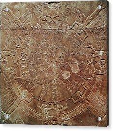 Egyptian Celestial Sphere Acrylic Print by Granger