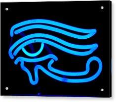 Egyptian Secret Eye Acrylic Print by Pacifico Palumbo